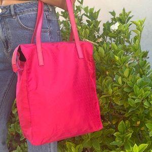 FENDI Mini Zucchino Shoulder Bag
